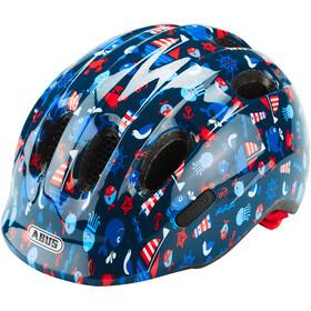 ABUS Smiley 2.1 Kask rowerowy Dzieci, niebieski